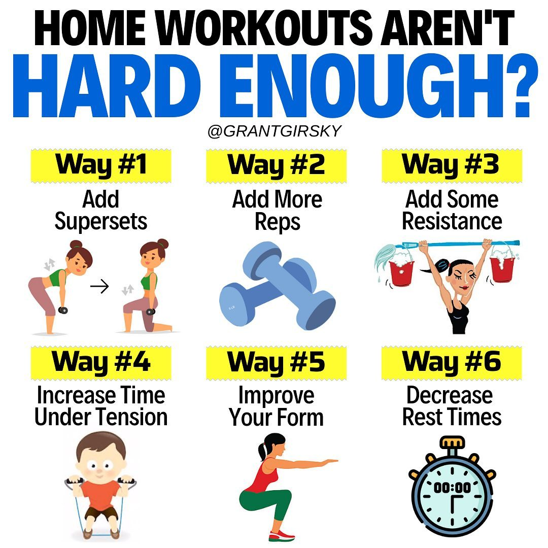 Your home workouts aren't hard enough?