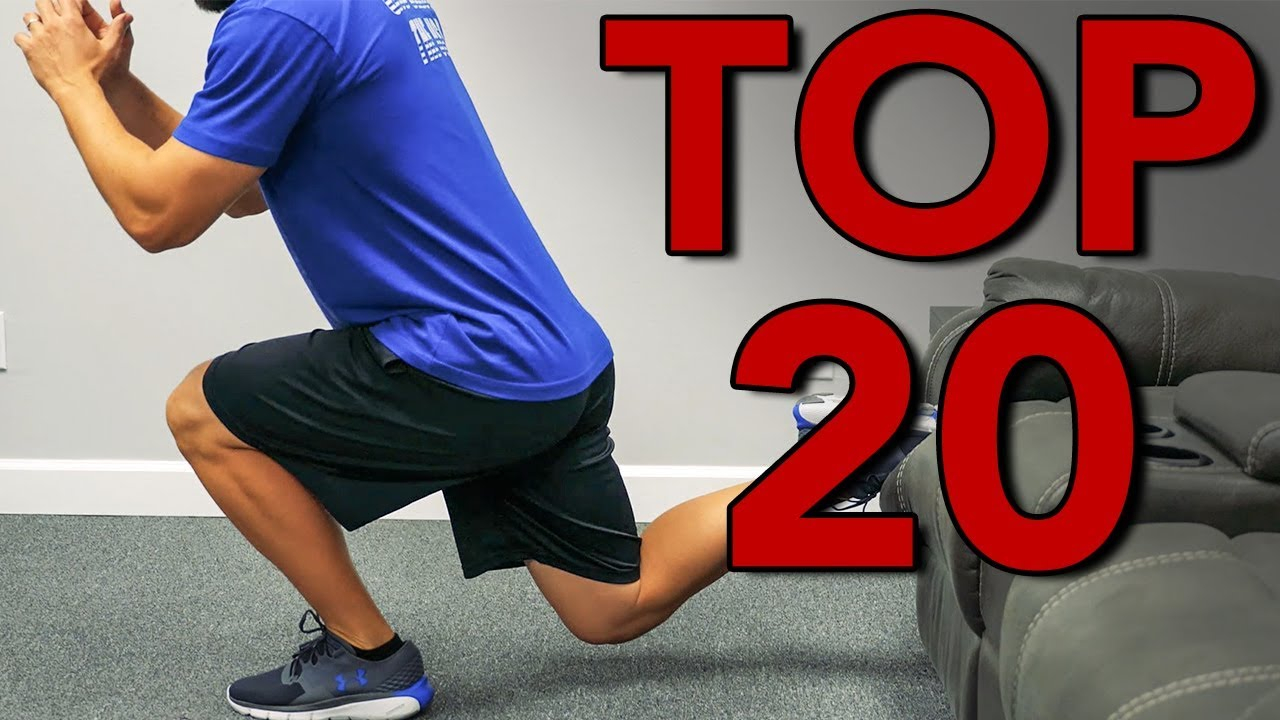 More Bodyweight exercises to do at home!